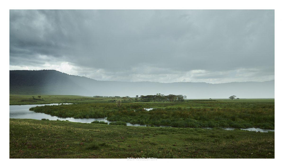 Ben Isselstein, Fine Art Regen im Ngorongoro
