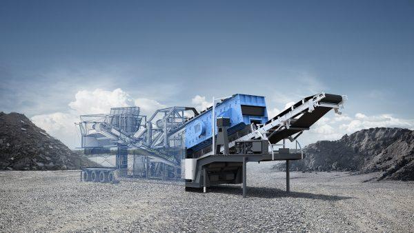 Industrie CGI rendering, Bildbearbeitung am Granulator Benninghoven